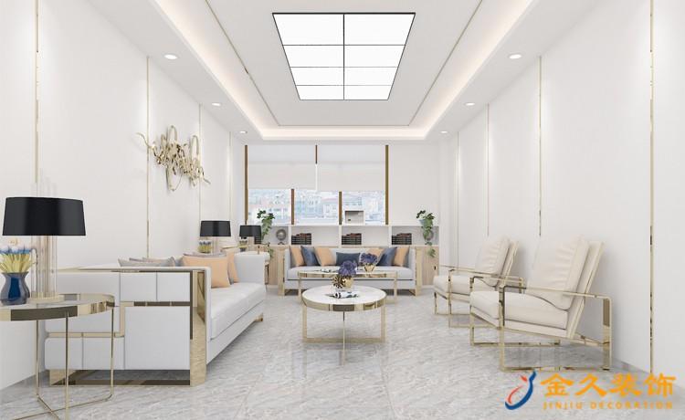 广州办公室接待区怎么装饰?办公室接待区装饰设计风格