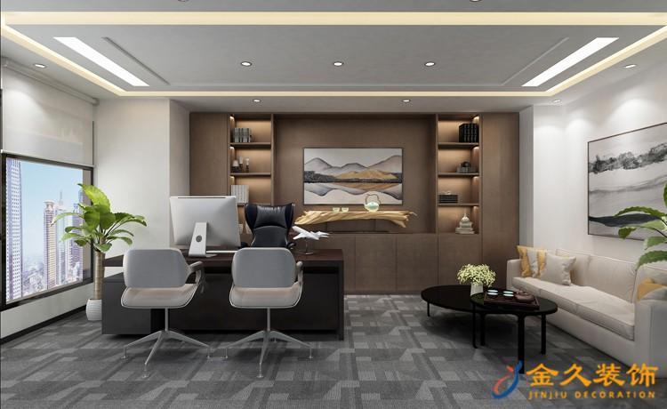 现代办公室装饰具有哪些特点?