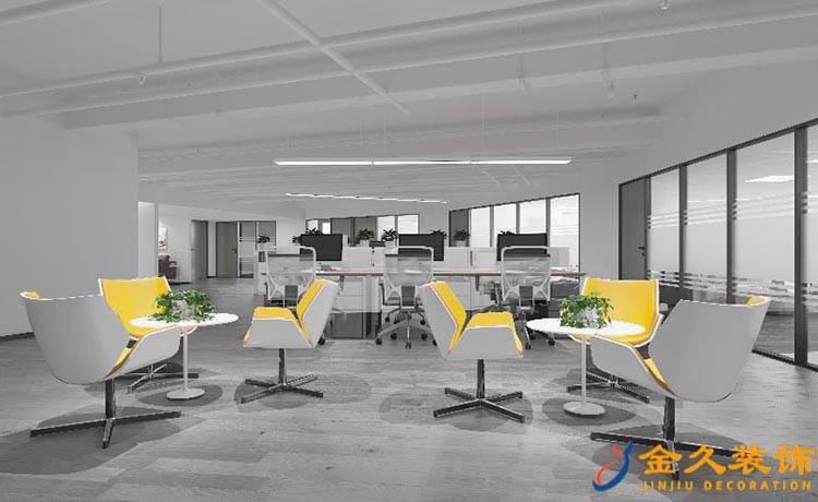 休闲区、办公区装修设计效果图