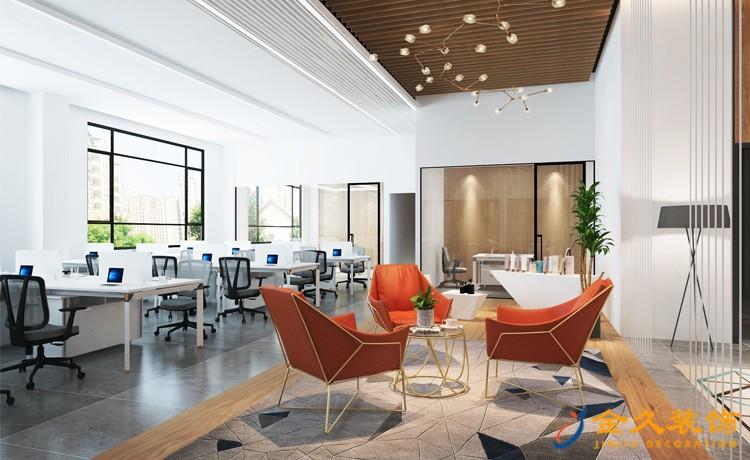 现代办公室装修具备什么特色