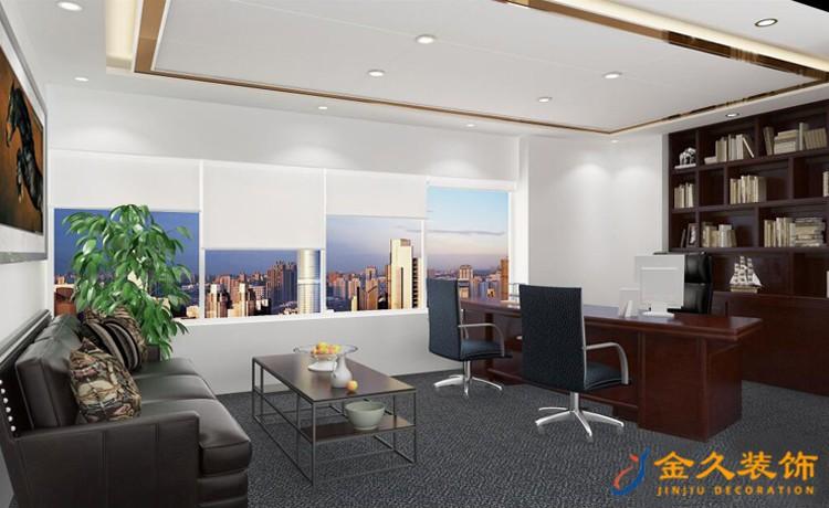 装修办公室设计现代风格特点及设计理念