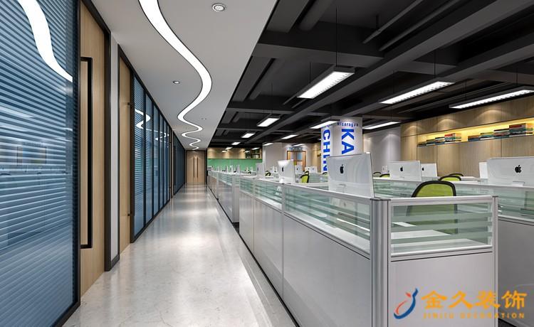广州办公室通道怎么装修设计?办公室通道装修设计技巧