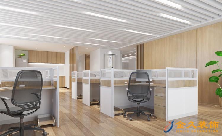 开放式办公室隔断该怎么设计?办公室隔断设计作用