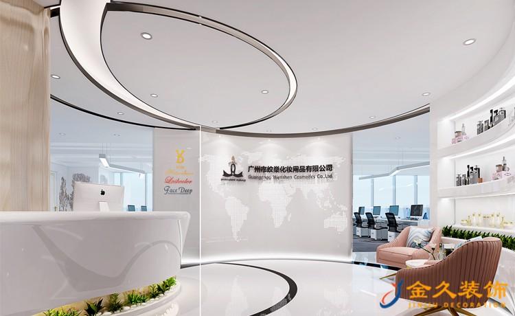 广州办公室装修如何设计前台?前台装修设计注意事项