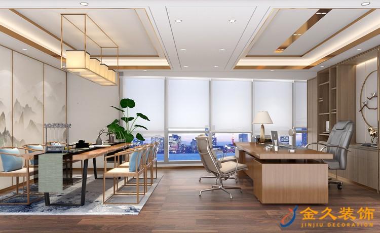 公司总经理办公室装修设计
