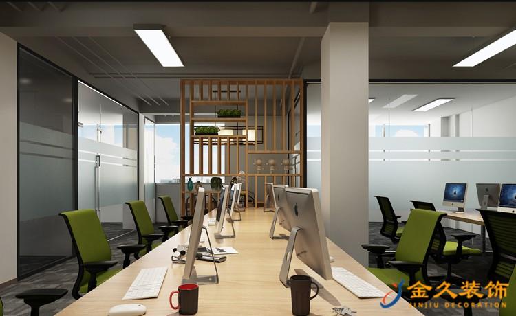 广州写字楼办公区域装修设计