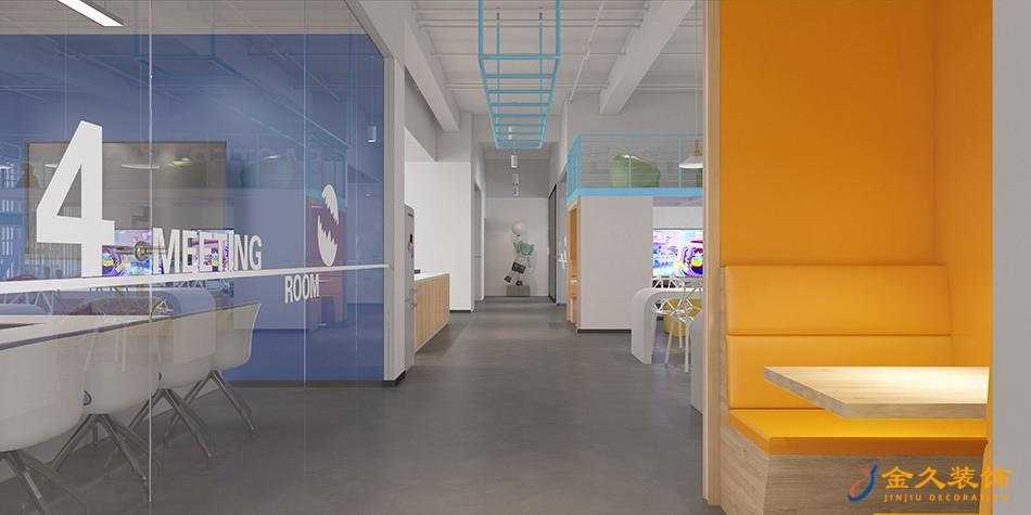 办公室过道装修设计效果图