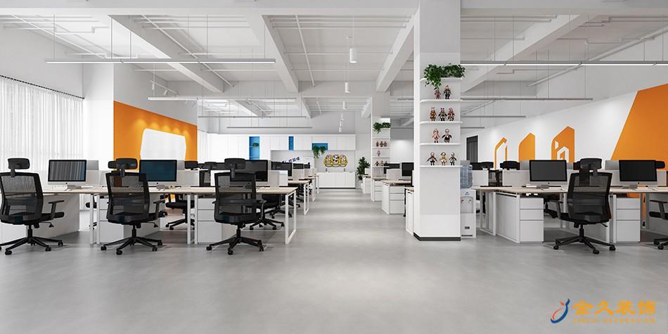 办公区装修设计效果图