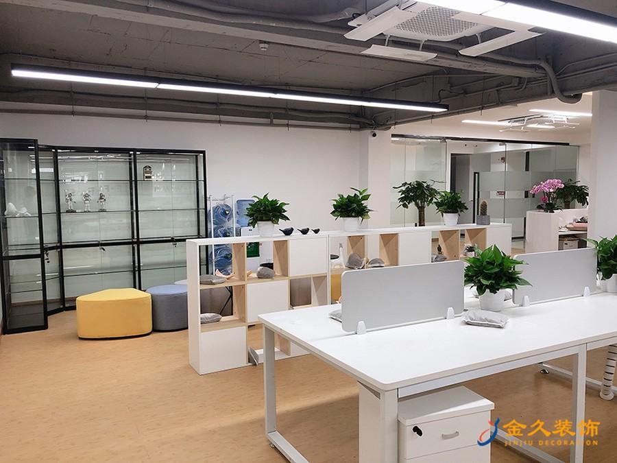 办公区装修设计实景图