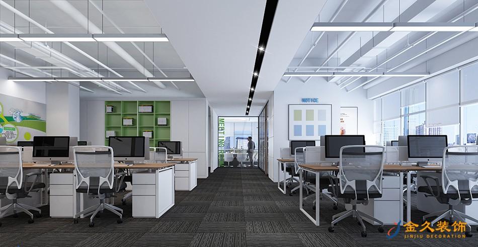 广州办公室接待厅装修设计